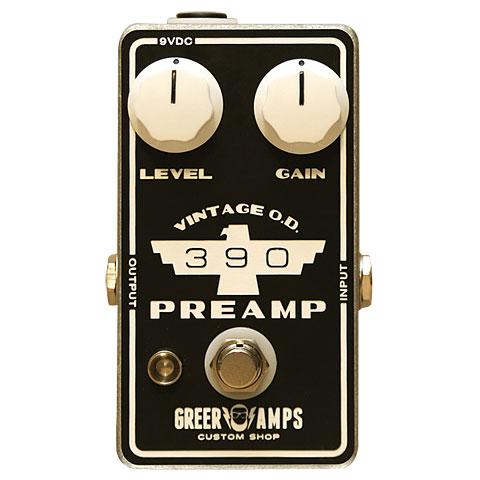 Greer Amps 390 Vintage Preamp/OD