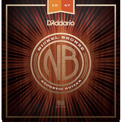D'Addario NB1047 Nickel Bronze Set