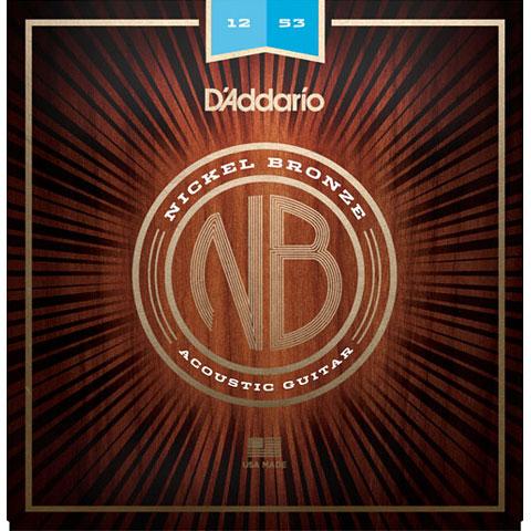 D'Addario NB1253 Nickel Bronze Set