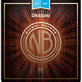Corde guitare folk D'Addario NB1253 Nickel Bronze Set