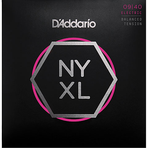 D'Addario NYXL0940BT Balanced Tension Set