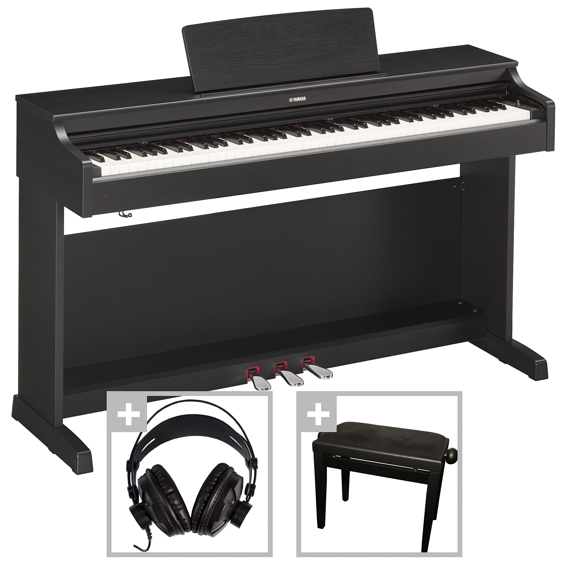 yamaha arius ydp 163 b set piano num rique. Black Bedroom Furniture Sets. Home Design Ideas
