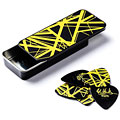 Médiators Dunlop EVH Black with Yellow Stripes