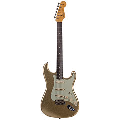 Fender Custom Shop 1964 Stratocaster Gold Sparkle « Guitare électrique