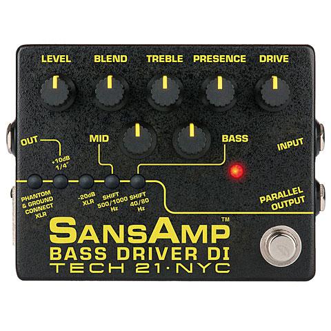 Tech 21 SansAmp BassDriver D.I. V.2