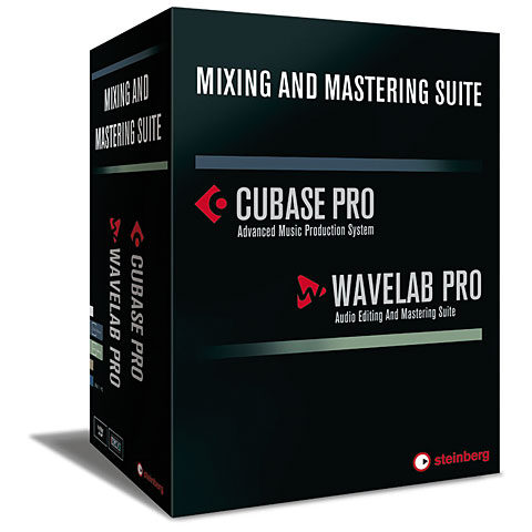 Steinberg Cubase Pro & Wavelab Pro Mixing + Mastering Suite