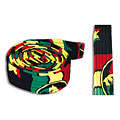 Terré Djembe Belt Rasta « Sangle batterie