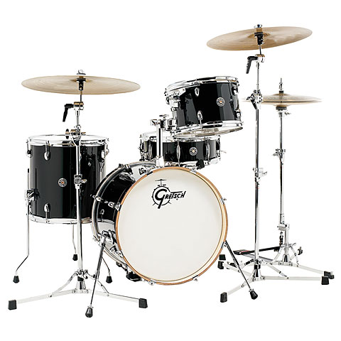 Gretsch Catalina Club 18  Piano Black Drumset