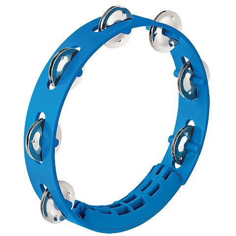 Nino 8  Sky-Blue ABS Compact Tambourine