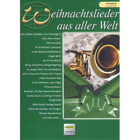 Holzschuh Weihnachtslieder aus aller Welt for Trumpet