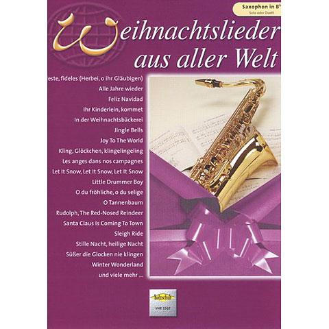 Holzschuh Weihnachtslieder aus aller Welt for Tenor Saxophon