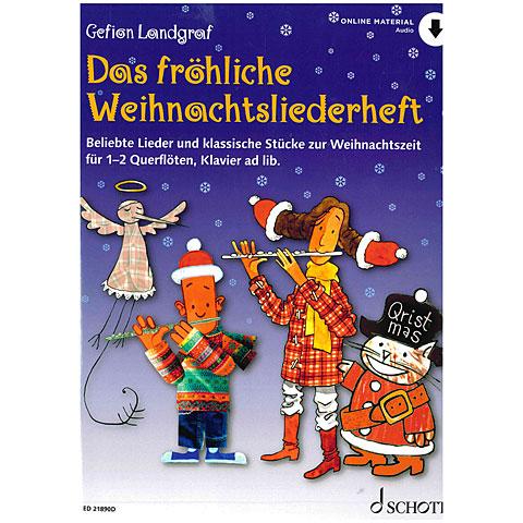 Schott Das fröhliche Weihnachtsliederheft for Flute