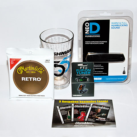 Fishman Neo-D Hum Package