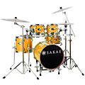 Batterie acoustique Sakae Pac-D Compact Drumset Orange