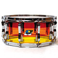 "Ludwig Vistalite14"" x 6,5"" Tequila Sunrise Snare « Caisse claire"