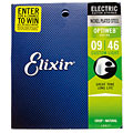 Elixir Optiweb Custom Light 009-046 « Corde guitare électrique