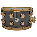Caisse claire DW Collector's Brass 14''x 8'' Black Nickel over Brass