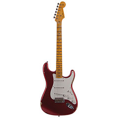 Fender Custom Shop 1955 Stratocaster Relic AG RD SPKL « Guitare électrique