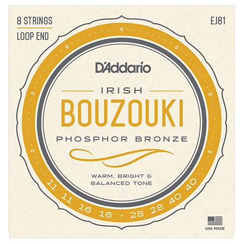 D'Addario EJ81 IrishBouzouki