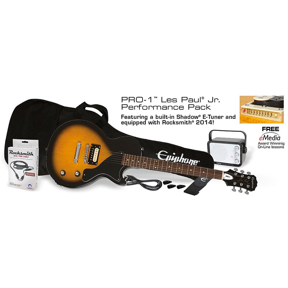 epiphone les paul jr performance kit pack guitare lectrique. Black Bedroom Furniture Sets. Home Design Ideas