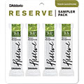Anches D'Addario Reserve Tenorsax Sampler Pack 3,0/3,0+/3,0+/3,5