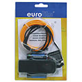 Eurolite EL-Schnur 2 mm, 2 m, orange « Lampe décorative