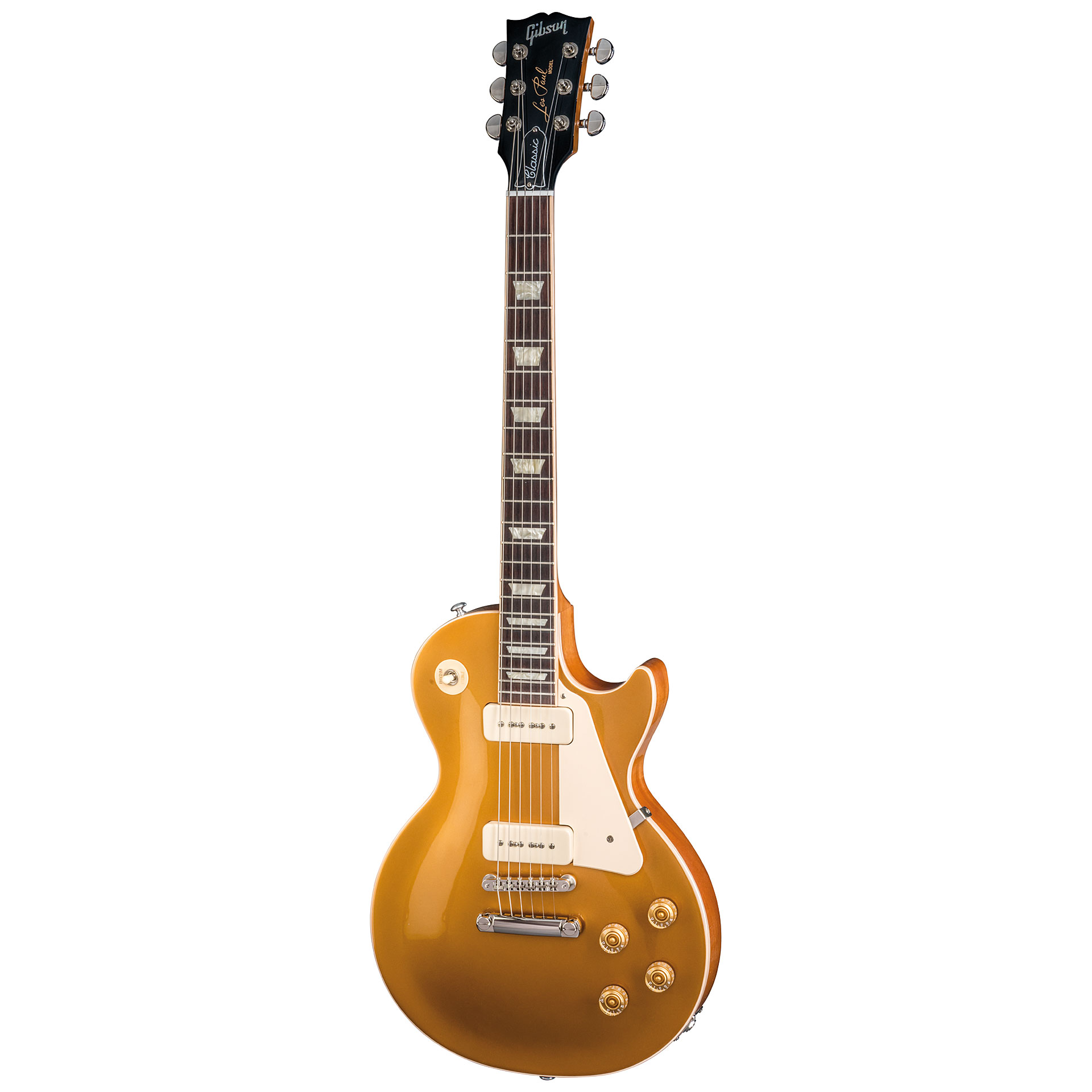 gibson les paul classic 2018 goldtop guitare lectrique. Black Bedroom Furniture Sets. Home Design Ideas