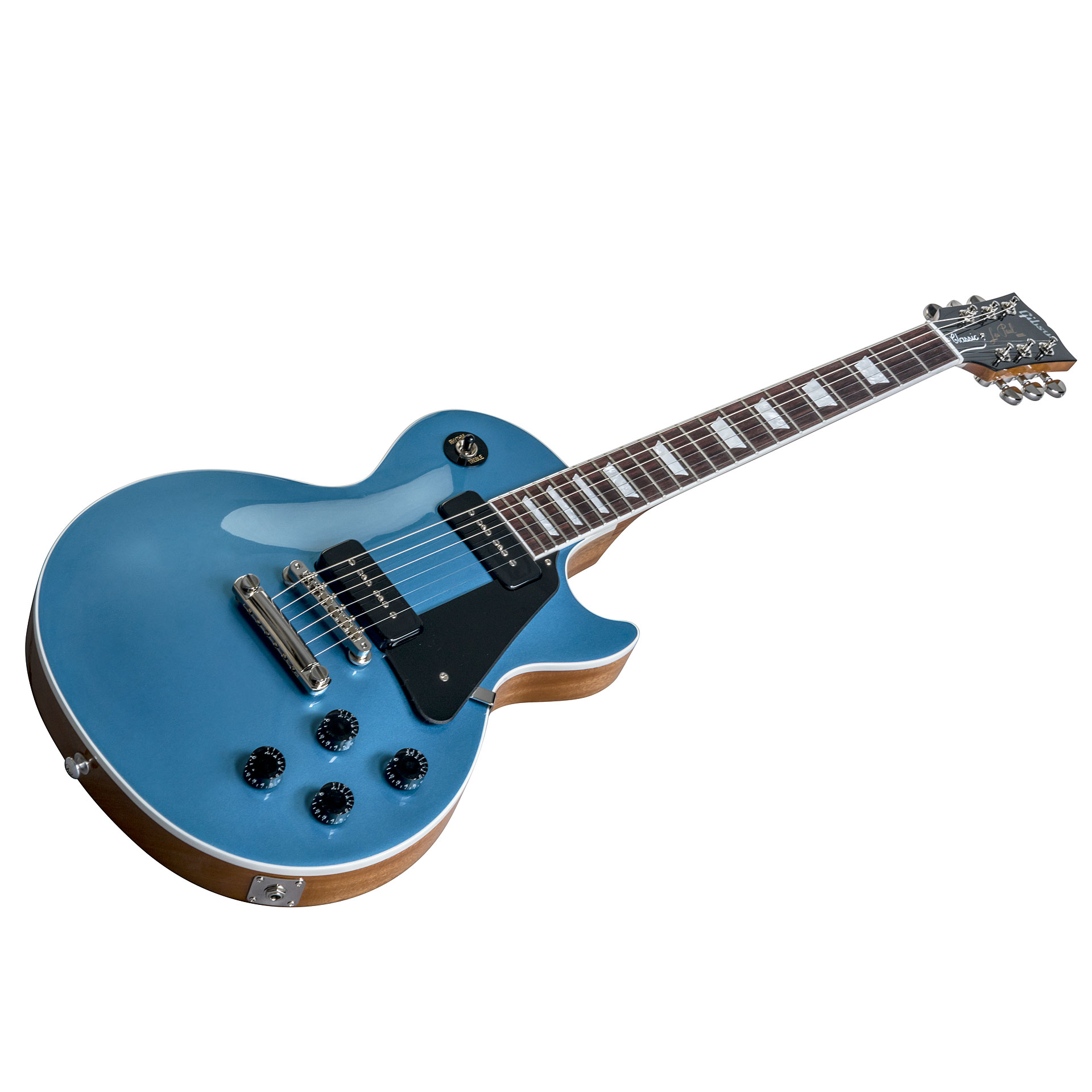 gibson les paul classic 2018 pelham blue guitare lectrique. Black Bedroom Furniture Sets. Home Design Ideas