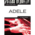 Recueil de Partitions Music Sales Really Easy Piano - Adele, Livres, Librairie