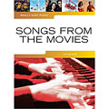 Recueil de Partitions Music Sales Really Easy Piano - Songs From The Movies, Livres, Librairie