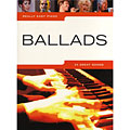 Recueil de Partitions Music Sales Really Easy Piano - Ballads, Livres, Librairie
