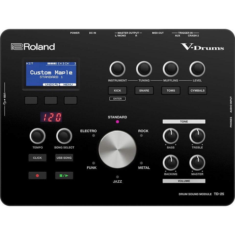 Roland Td 25kv V Drums Bundle 10099977 Batterie Lectronique