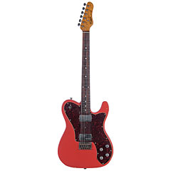 Haar Traditional T, Fiesta Red Fralin PUs « Guitare électrique