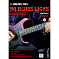 Tunesday E-Gitarre Training - 50 Blues Licks (+DVD) « Manuel pédagogique