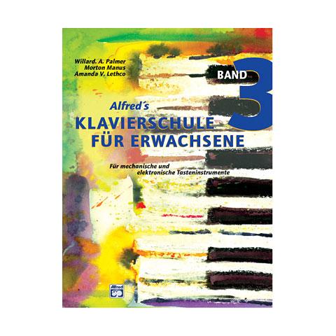 Alfred KDM Klavierschule Für Erwachsene 3