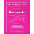 Agostini Methode de Batterie Vol.1 - Solfege Batterie « Manuel pédagogique