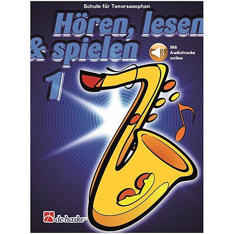 De Haske Hören,Lesen&Spielen Bd. 1 für Tenorsax
