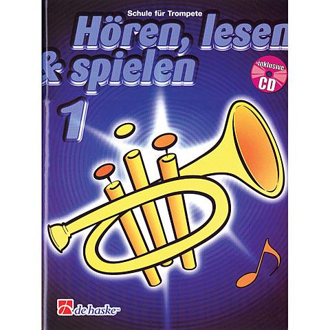 De Haske Hören,Lesen&Spielen Bd. 1 für Trompete