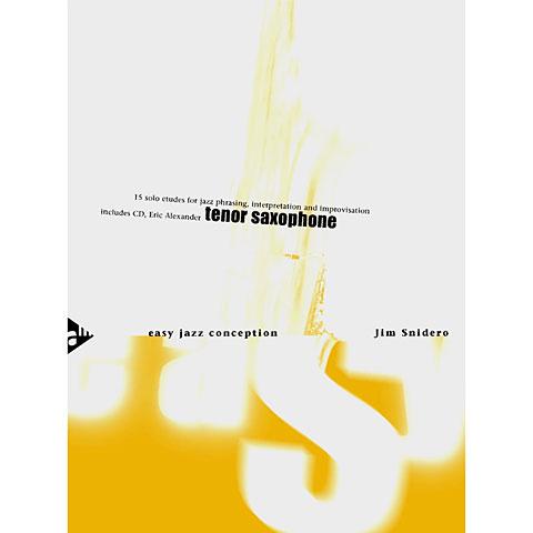 Advance Music Easy Jazz Conception for Tenor & Soprano Saxophone