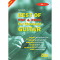 Recueil de Partitions Dux Best of Pop & Rock for Classical Guitar Vol.1
