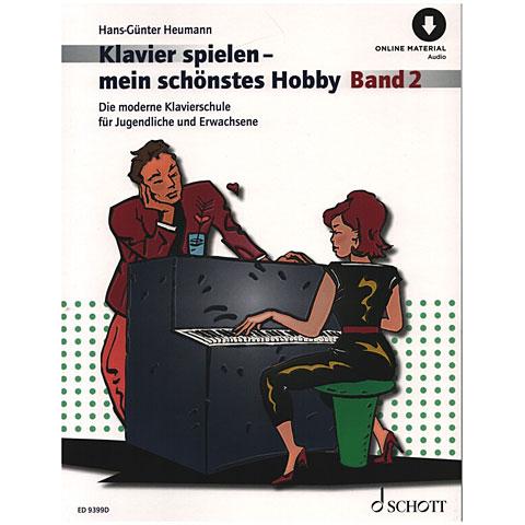 Schott Klavierspielen - mein schönstes Hobby Bd.2