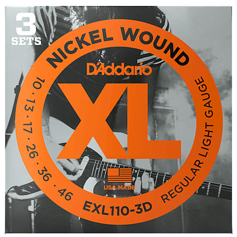 D'Addario EXL110-3D Nickel Wound .010-046