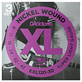 D'Addario EXL120-3D Nickel Wound .009-042 « Corde guitare électrique
