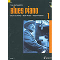 Manuel pédagogique Schott Blues Piano Bd.1