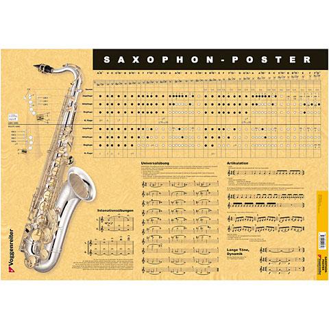 Voggenreiter Saxophon-Poster