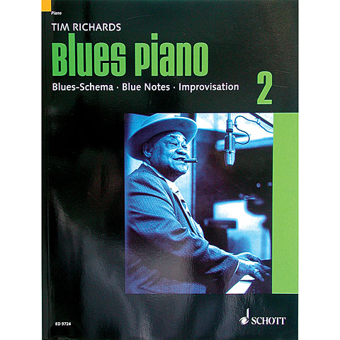 Schott Blues Piano Bd.2