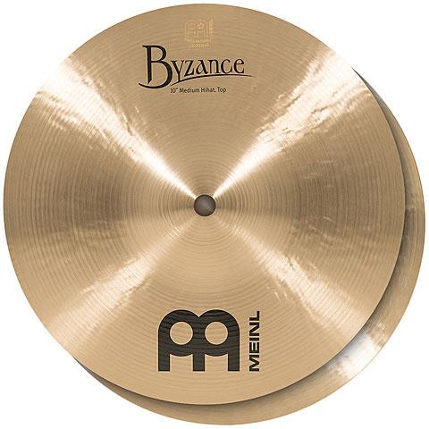 Meinl Byzance Traditional 10  Medium HiHat