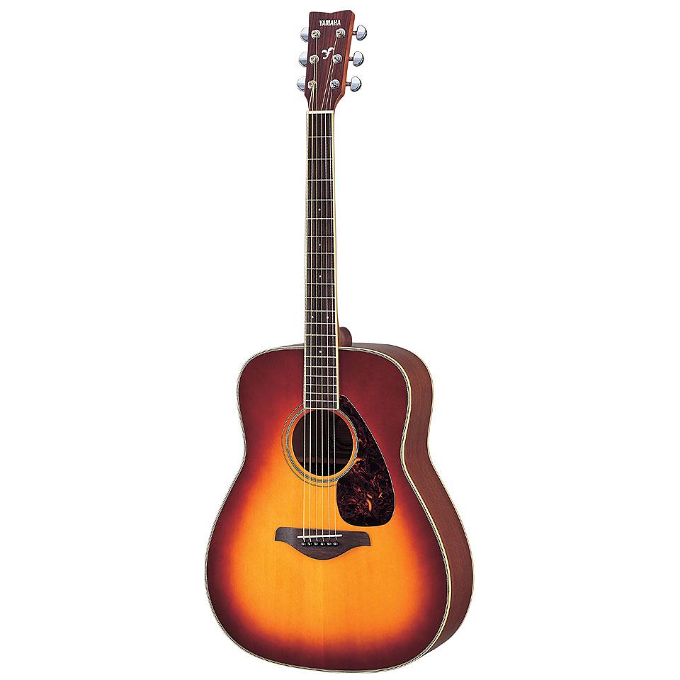 yamaha fg720s brs guitare acoustique. Black Bedroom Furniture Sets. Home Design Ideas
