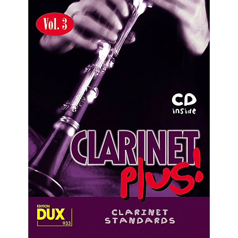 Dux Clarinet Plus! Vol.3