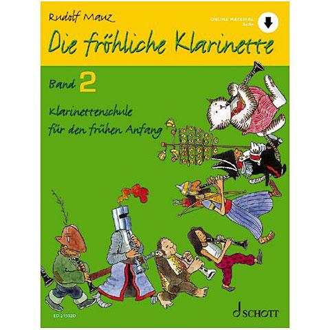 Schott Die fröhliche Klarinette Bd.2 inkl. CD